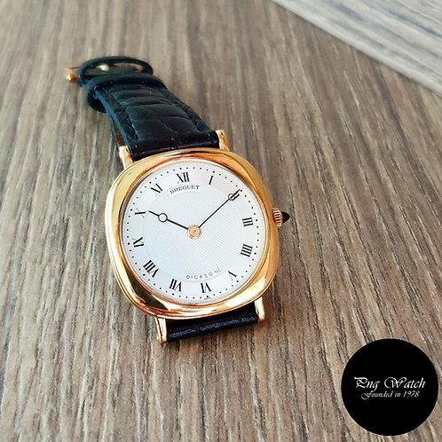 Breguet 18K Yellow Gold Dickson Dress Watch REF: 3312 (2)