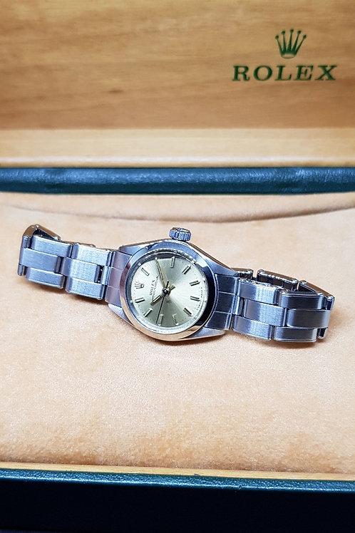 Rolex Champagne Ladies Oyster Perpetual