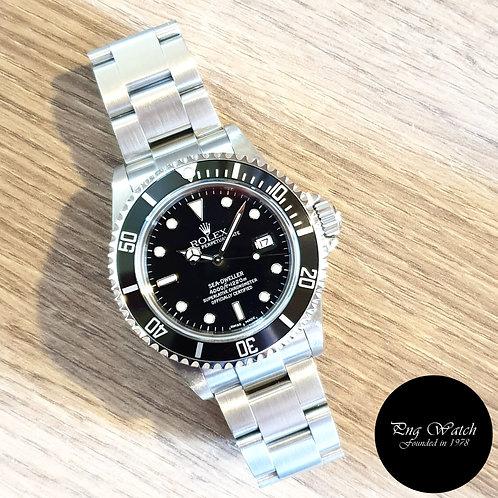 Rolex Oyster Perpetual Black Sea Dweller REF: 16600 (Y Series)(2)