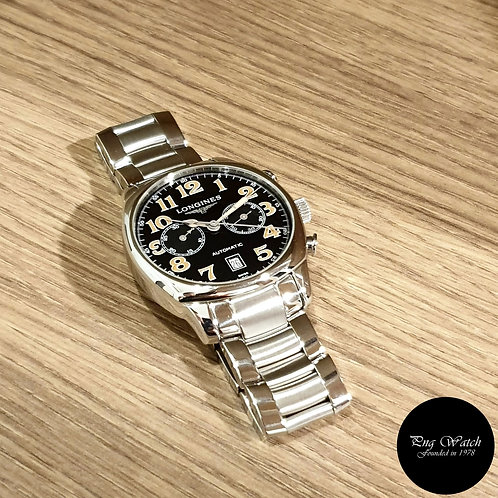 Longines Spirit Black Chronograph Sports Watch (2)