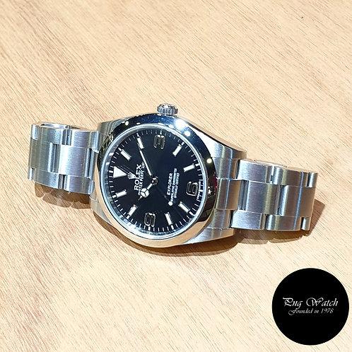 "Rolex Oyster Perpetual 39mm ""MK1"" Black Explorer One REF: 214270 (AN)(2)"