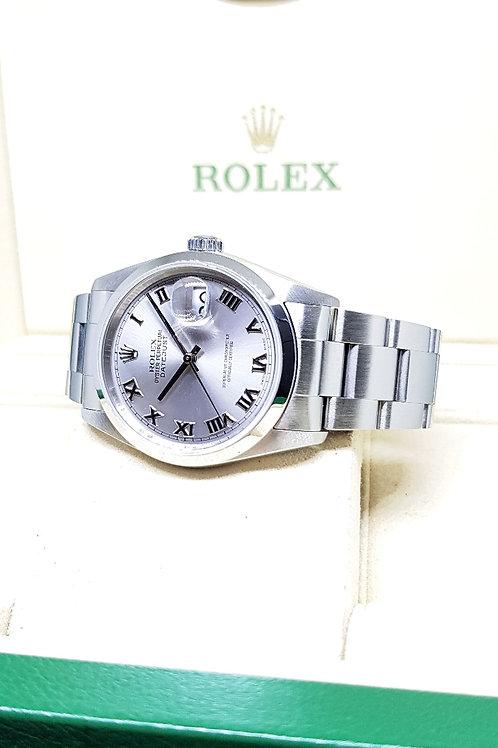 Rolex White Roman Datejust REF: 16200
