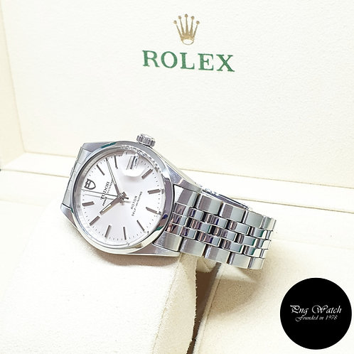 Tudor Silver Prince Oysterdate Dress Watch REF: 72000 (By Rolex)