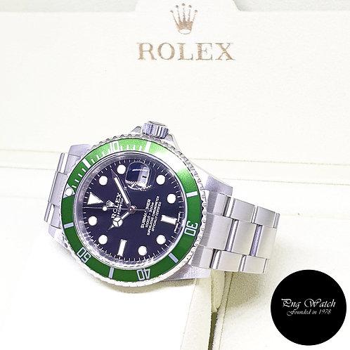 "Rolex Oyster Perpetual ""KERMIT"" Submariner Date REF: 16610LV"