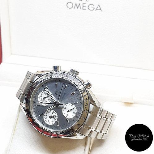 Omega Silver Speedmaster Triple Date Chronograph REF: 3523.30.00 (Undated)