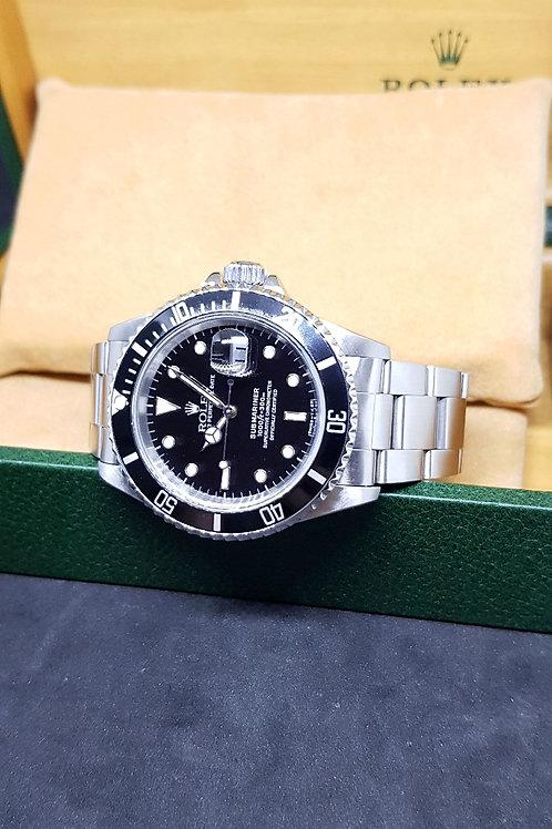 Rolex Oyster Perpetual Date Tritium Submariner REF: 16610