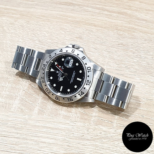 "Rolex Oyster Perpetual Tritium ""TRINOVA"" Black Explorer 2 REF: 16570 (2)"