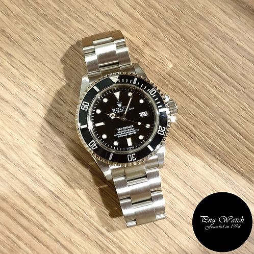 Rolex Oyster Perpetual Date 'Swiss Dial' Black Sea Dweller REF: 16600 (2)