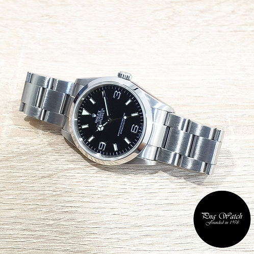 Rolex Oyster Perpetual 36mm Black Explorer One REF: 114270 (Z)(2)