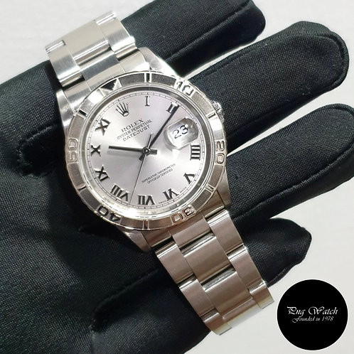 Rolex 36mm Discontinued Perpetual Silver TOG Datejust REF: 16264 (2003)(2)