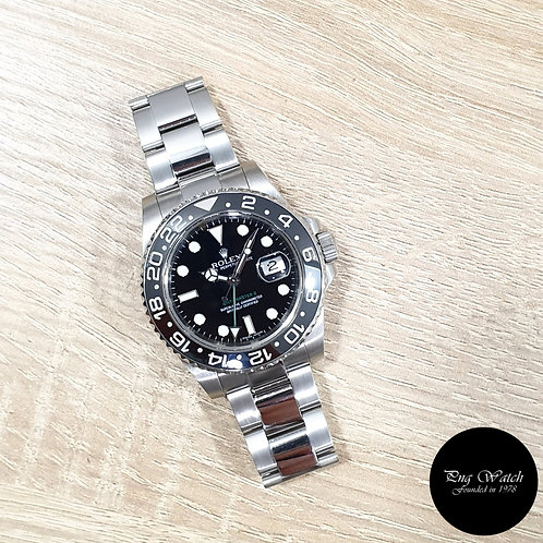 Rolex Oyster Perpetual Black Ceramic GMT Master 2 REF: 116710LN (M Series)(2)