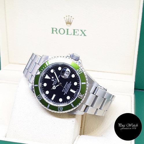 "Rolex Oyster Perpetual ""KERMIT"" Submariner Date REF: 16610LV (M Series)(2008)"
