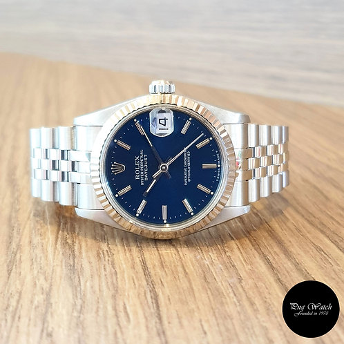 Rolex Oyster Perpetual 31mm Blue Index Datejust REF: 68274 (2)