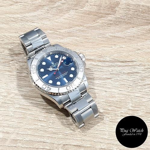 Rolex OP 40mm Blue Yachtmaster REF: 116622 (2)