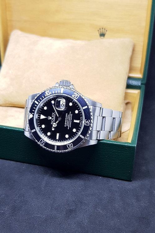 Rolex Oyster Perpetual Tritium Submariner Date (U) REF: 16610