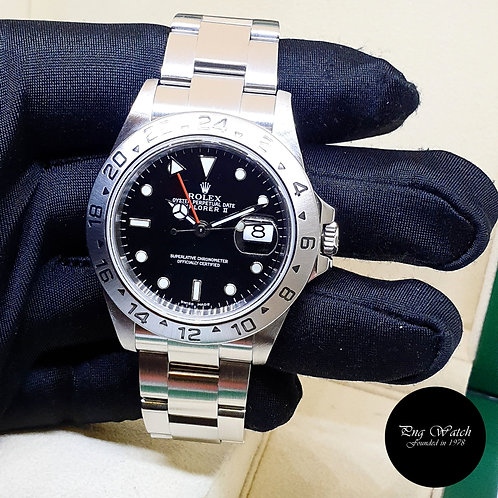 Rolex Oyster Perpetual 40mm Black Explorer 2 REF: 16570 (2)