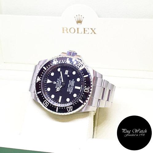 "Rolex Oyster Perpetual Black 44mm Sea Dweller ""DEEPSEA"" REF: 116660 (AN Series)"