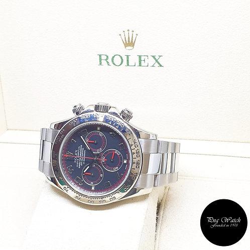 """Rolex Perpetual 18K White Gold """"SPYDER"""" Black Daytona REF: 116509"""