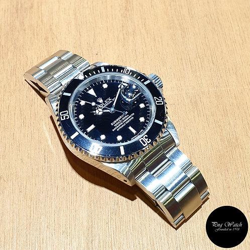 Rolex Oyster Perpetual Tritium Submariner Date REF: 16610 (X)(2)