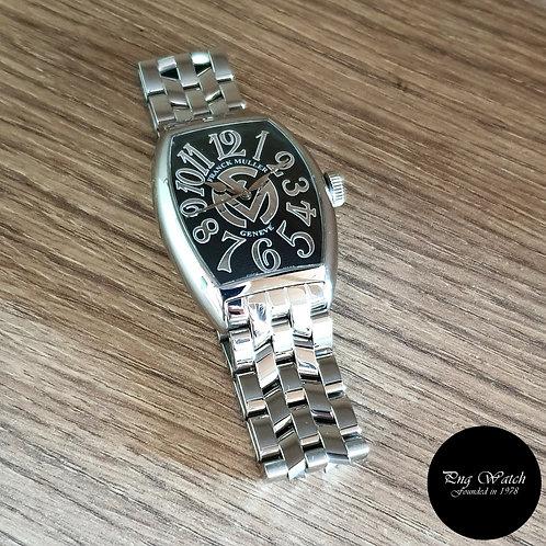 Franck Muller Cìntree Curvex Black Wristwatch (2)