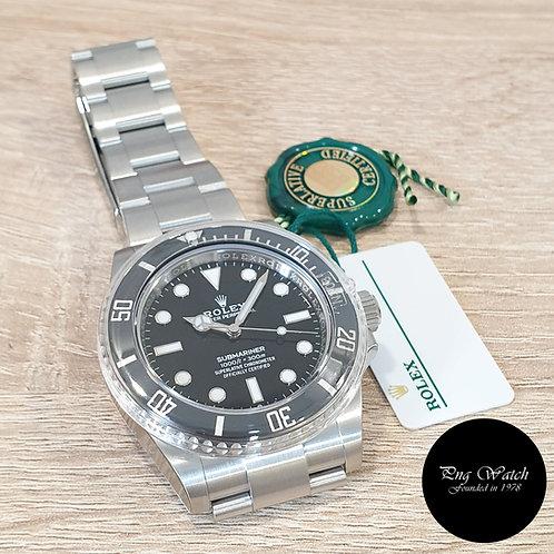 Rolex OP Steel Ceramic 41mm No Date Black Submariner REF: 124060 (2)