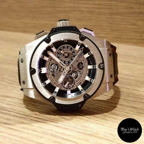Hublot King Power Unico 48mm Skeleton Titanium Chronograph Watch (2)