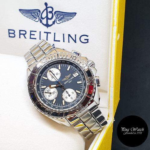 Breitling Shark Matte Black 41mm Chronograph Watch REF: A13051