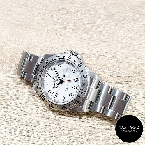 "Rolex Oyster Perpetual White ""POLAR"" Explorer 2 REF: 16570 (Z)(2)"