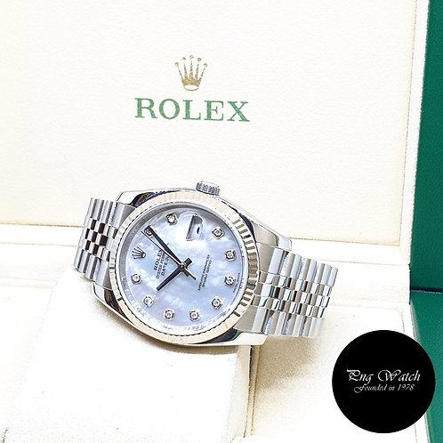 Rolex Oyster Perpetual 36mm MOP Diamonds Datejust REF: 116234 (2007)