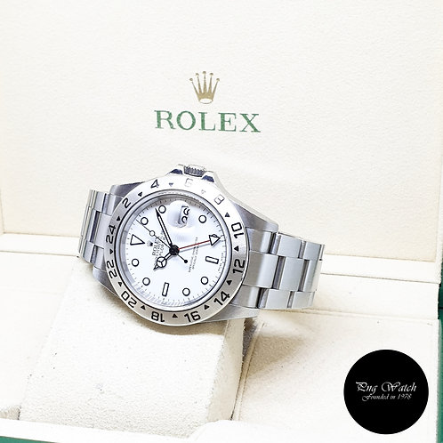 "Rolex Oyster Perpetual 40mm ""POLAR"" Explorer 2 REF: 16570 (Z Series)"