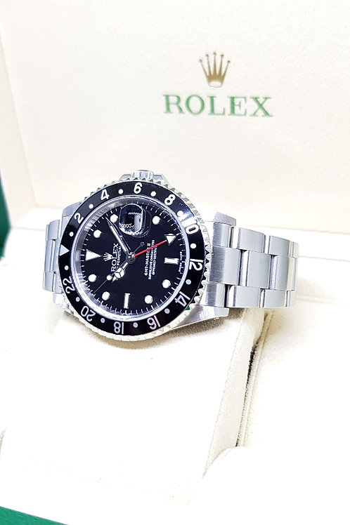 """Rolex Oyster Perpetual Date GMT Master 2 """"Black Knight"""" REF: 16710"""