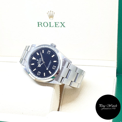 Rolex Oyster Perpetual 36mm Black Explorer One REF: 114270 (Z Series)