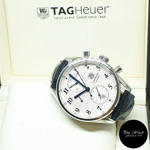 Tag Heuer 41mm Carrera Chronograph Watch REF: CAS2111