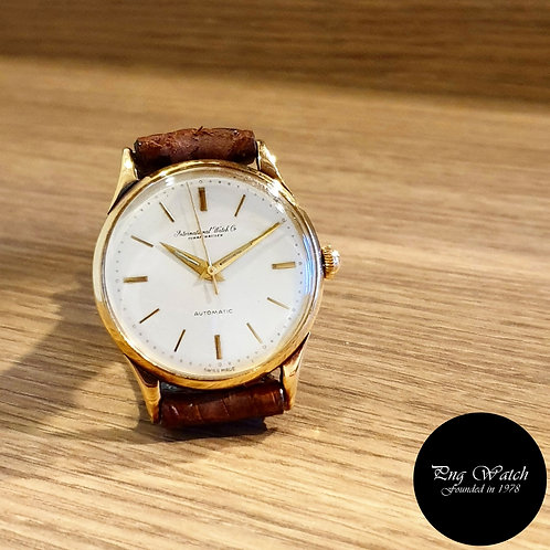 Vintage 1950s IWC (International Watch Co.) 14K Gold Watch REF: 585 (2)