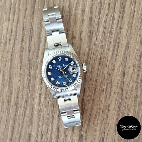 Rolex Blue Sodalite Diamonds Lady Datejust REF: 79174 (Y)(2)