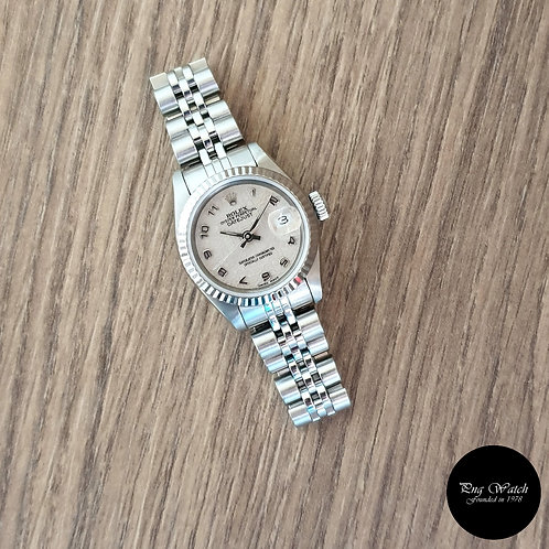 Rolex Oyster Perpetual Ivory Computer Dial Datejust REF: 69174 (2)