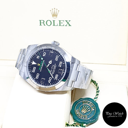 Rolex Oyster Perpetual 40mm Black Air-King REF: 116900