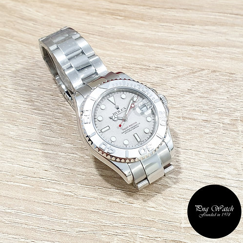 Rolex Oyster Perpetual 35mm Platinium Yachtmaster REF: 168622 (Y)(2)