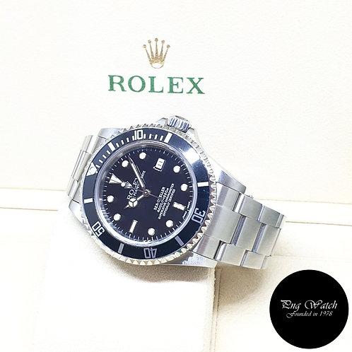 Rolex Oyster Perpetual Black Sea Dweller REF: 16600 (Y Series)