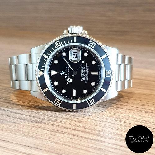 Rolex Tritium Black Submariner Date REF: 16610 (U Series)(2)