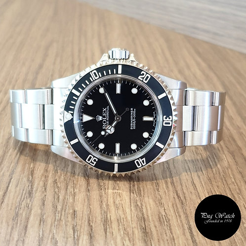 Rolex Oyster Perpetual 2 Liner Submariner No Date REF: 14060M (2)