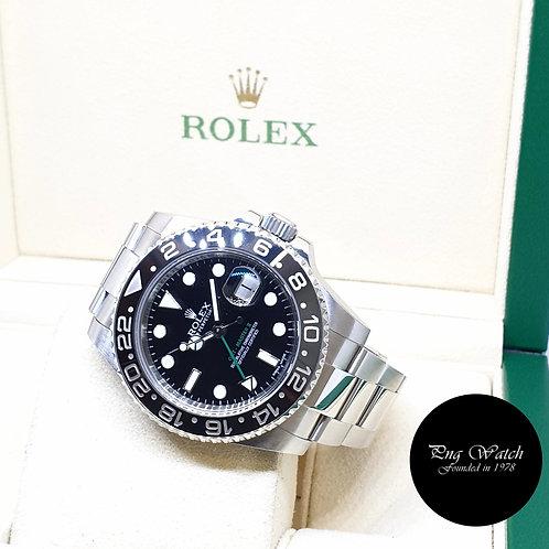 Rolex Oyster Perpetual Ceramic Black GMT Master 2 REF: 116710LN (2012)