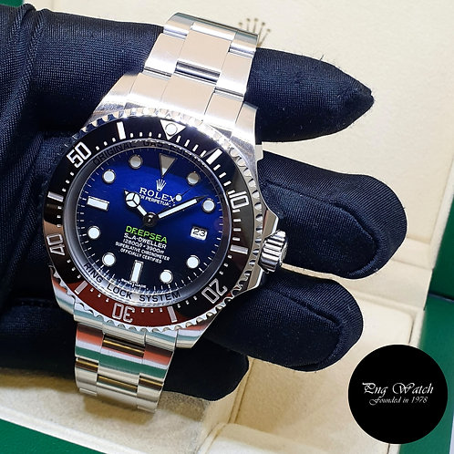 Rolex Oyster Perpetual 44mm Sea Dweller DEEPSEA Blue REF: 116660 (2)
