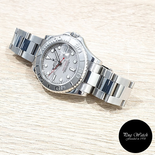 Rolex Oyster Perpetual 35mm Platinium Yachtmaster REF: 168622 (2)