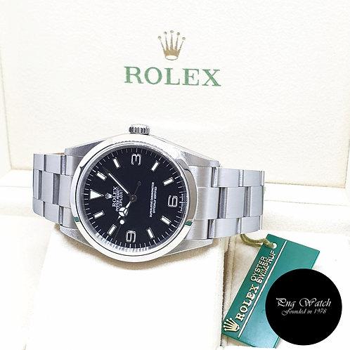 Rolex 36mm Discontinued Black Explorer One REF: 114270 (2001)