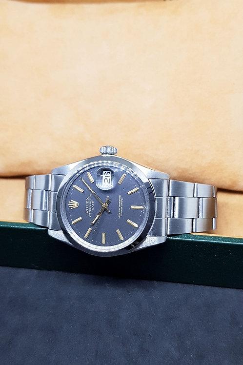 Rolex Oyster Perpetual Matte Black Date REF: 1500
