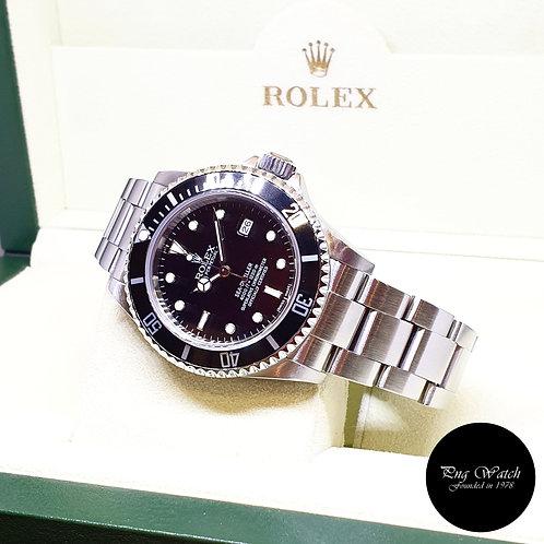 Rolex Oyster Perpetual Black Sea Dweller REF: 16600 (Z Series)