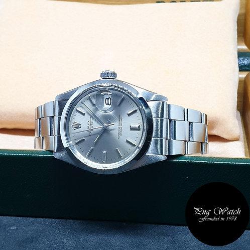 Rolex Oyster Perpetual Grey Date REF: 1500