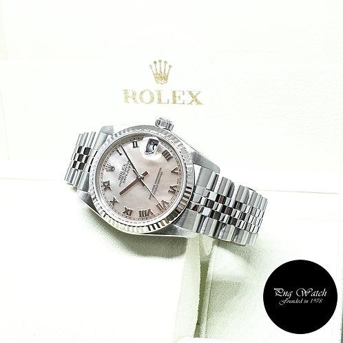 Rolex Oyster Perpetual 31mm MOP Roman Datejust REF: 78274 (2008)