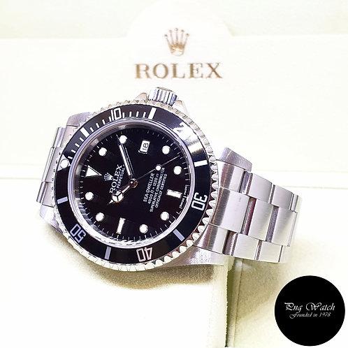 Rolex Oyster Perpetual Black Steel Sea Dweller REF: 16600 (F Series)